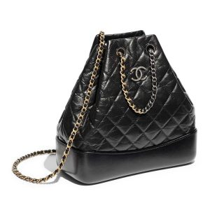 Chanel Gabrielle Backpack in Aged Calfskin Quilted Leather