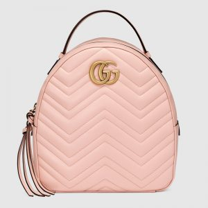 Gucci GG Women GG Marmont Matelassé Backpack