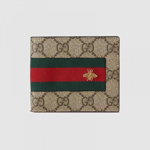 Gucci GG Men Gucci Signature Web Wallet