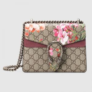 Gucci GG Women Dionysus GG Blooms Mini Bag