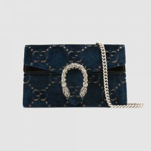 Gucci GG Women Dionysus GG Velvet Super Mini Bag
