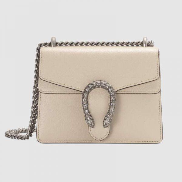 Gucci GG Women Dionysus Mini Leather Bag