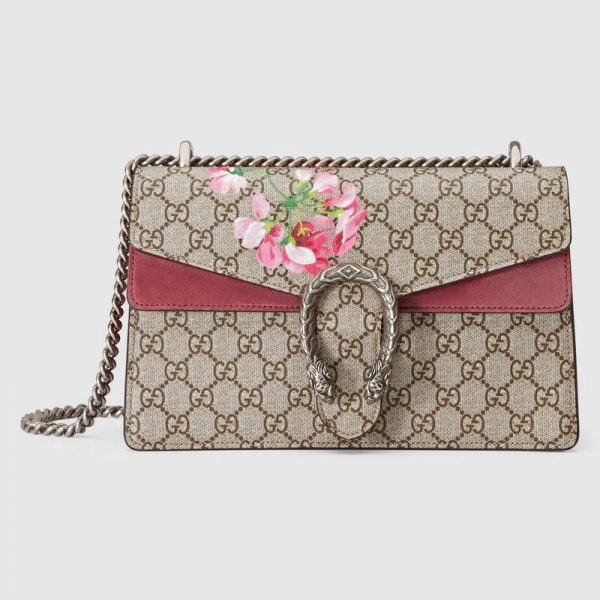 Gucci GG Women Dionysus Small GG Blooms Shoulder Bag
