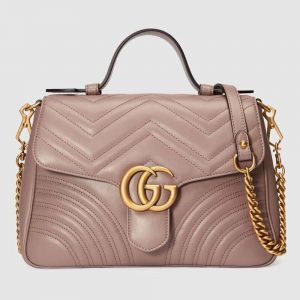 Gucci GG Women GG Marmont Small Top Handle Bag