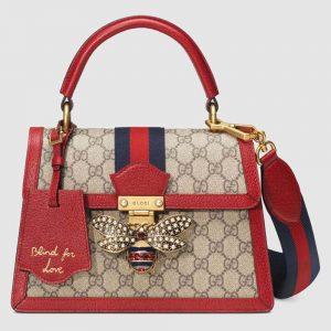 Gucci GG Women Queen Margaret GG Small Top Handle Bag