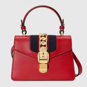 Gucci GG Women Sylvie Leather Mini Bag