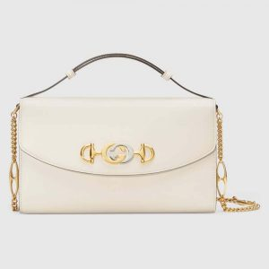 Gucci Women Zumi Smooth Leather Small Shoulder Bag