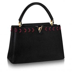 Louis Vuitton LV Capcines MM Bag M54881-Black