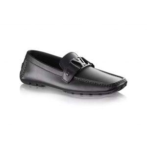 Louis Vuitton LV Men Monte Carlo Car Shoe Shoes Black