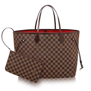 Louis Vuitton LV NEVERFULL MM Monogram Tote Handbag