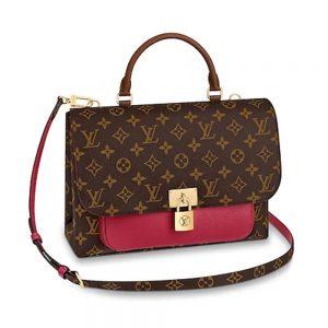 Louis Vuitton LV Women Marignan Bag in Monogram Canvas and Calf Leather