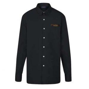 Louis Vuitton LV Men Louis Vuitton Staples Edition DNA Shirt-Black