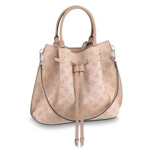 Louis Vuitton LV Women Girolata Bucket Bag in Mahina Calfskin