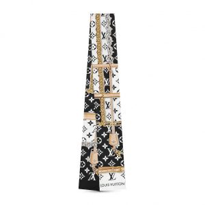 Louis Vuitton LV Women Monogram Confidential Silk Bandeau with Monogram