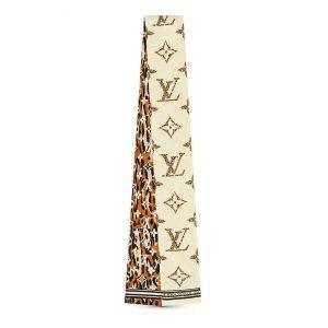 Louis Vuitton LV Women Monogram Giant Jungle Silk Bandeau with Monogram Canvas Fringing