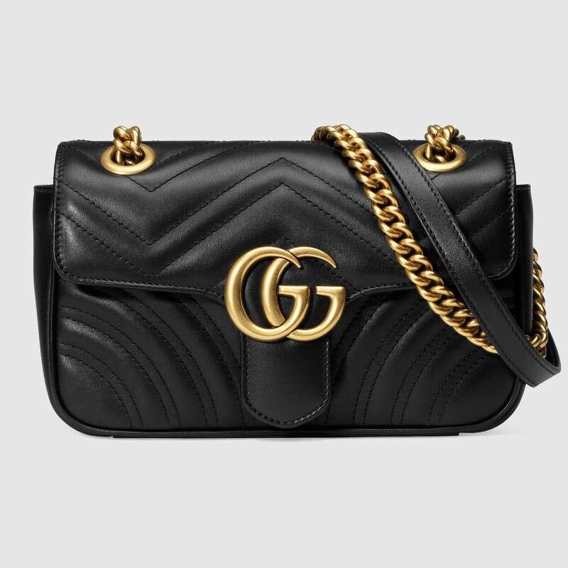 Gucci GG Marmont Matelasse Mini Bag Nude 446744 - Best