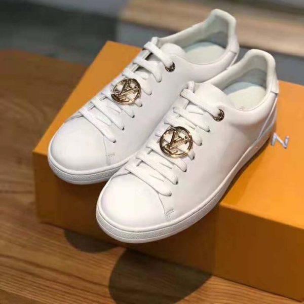louis vuitton sneakers gold