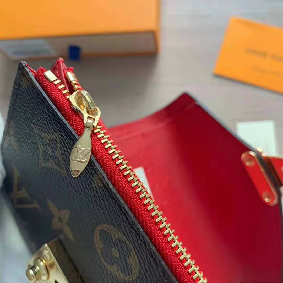 Louis Vuitton LV Women Pallas Compact Wallet in Monogram ...