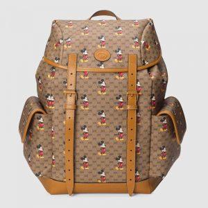 Gucci GG Unisex Disney x Gucci Medium Backpack BeigeEbony
