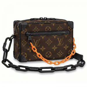 Louis Vuitton LV Unisex Mini Soft Trunk Bag Taurillon Cowhide