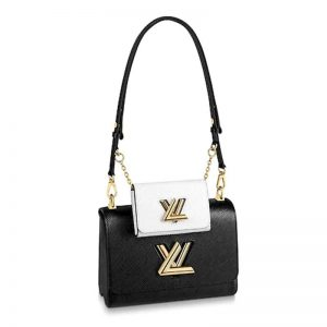 Louis Vuitton LV Women Twist MM and Twisty Epi leather