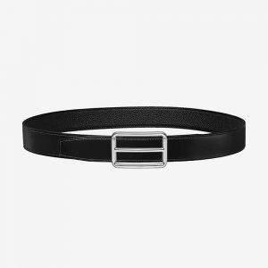 Hermes Men H Rouleau Belt Buckle & Reversible Leather Strap 32 mm