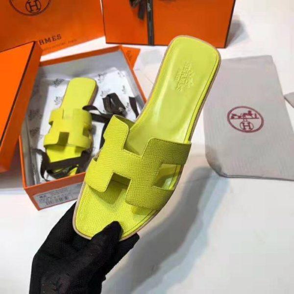 Hermes Women Oran Sandal Patent