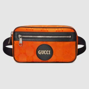 Gucci GG Unisex Gucci Off The Grid Belt Bag-Orange