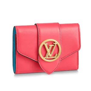 Louis Vuitton LV Women LV Pont 9 Compact Wallet Smooth Cowhide-Rose