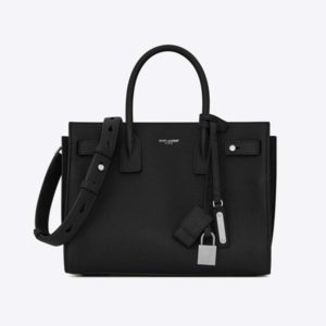 Saint Laurent YSL Women Sac De Jour Souple Baby-Black