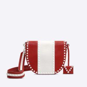 Valentino Women Free Rockstud Shoulder Bag in Leather