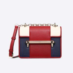 Valentino Women Small Multicolour Uptown Shoulder Bag