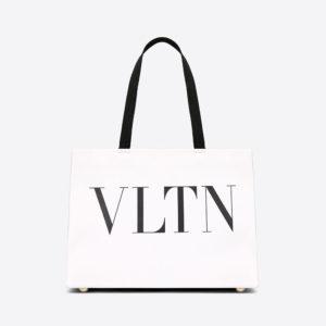Valentino Women Vltn Tote Bag-White